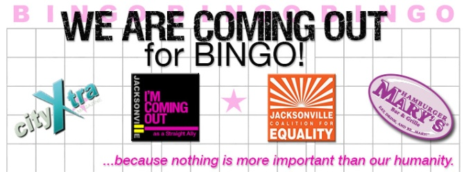 We Are Coming Out for BINGO!