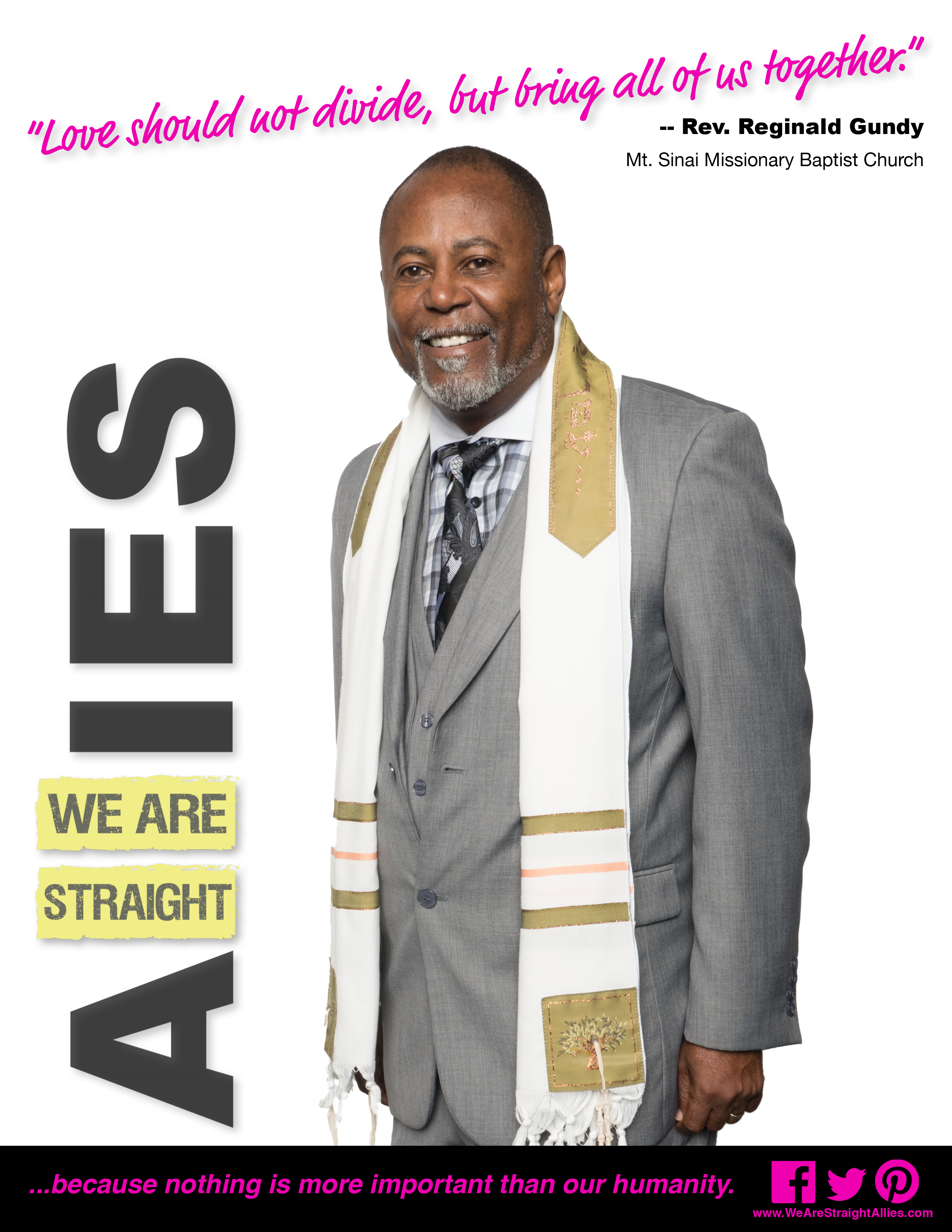 Ally profile pastor reginald gundy we are straight allies pastor gundyfp born in jacksonville aiddatafo Images